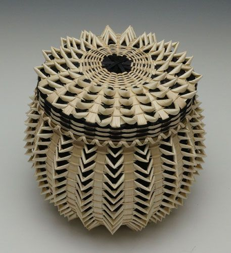Traditional Native American Basket Weaving : Best images about tribal basketry on