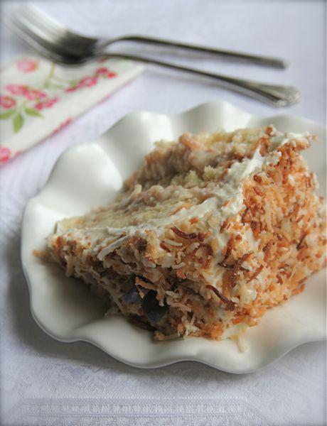 Triple Layer Coconut Custard Cake: Coconut Custard, Layer Coconut, Custard Cake, Coconut Cakes, Favorite Recipes, Cake Recipes, Cream Cheeses, Cream Cheese Frosting
