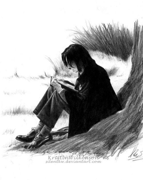 Young Severus Snape fan art