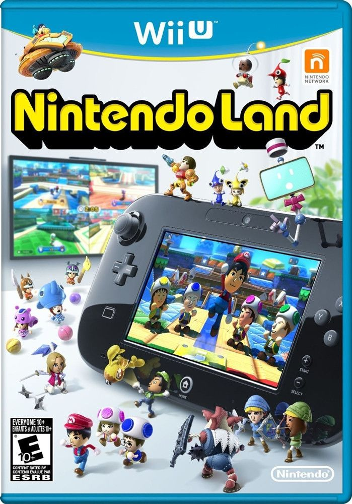 Nintendo Land [Wii U Game]