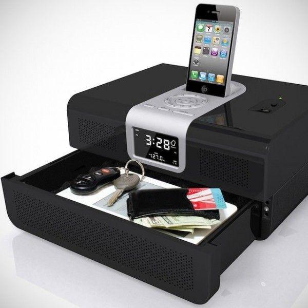 RadioVault Fingerprint Safe by Cannon Security - $390