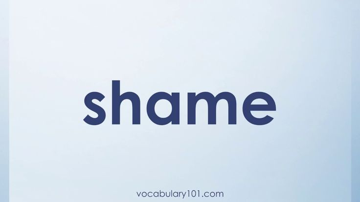 shame Meaning and Example Sentence | Learn English Vocabulary Word with Definition