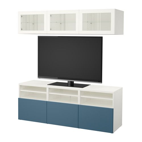 17 best ideas about tv storage on pinterest wall mounted tv unit floating - Ikea meuble tv mural ...