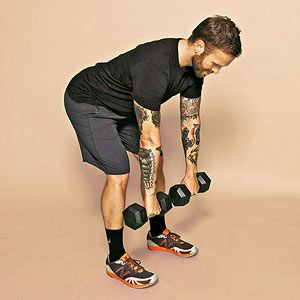 Dead Lift With a Twist #exercise
