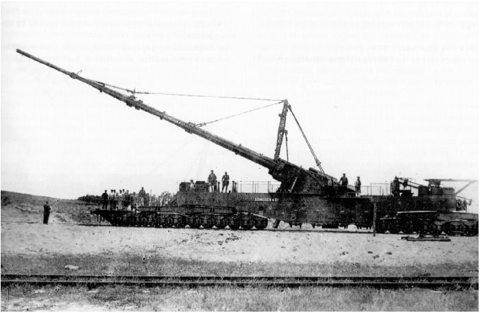 """This is """"Big Bertha"""", after the wife of arms mfg Krupp ..."""