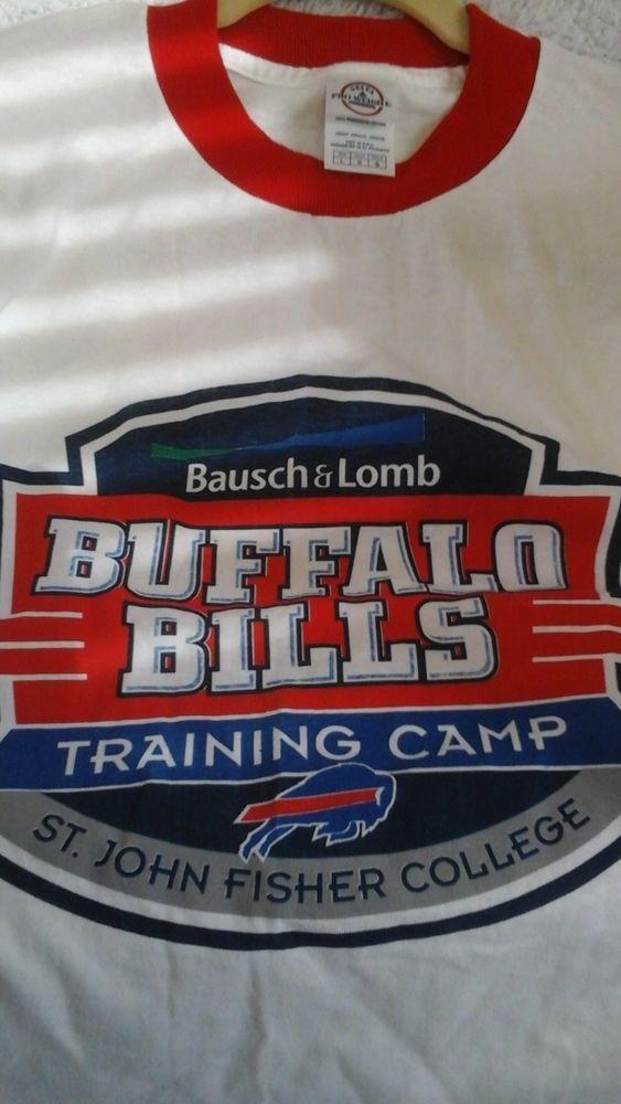 Buffalo Bills training  camp tshirt  2002