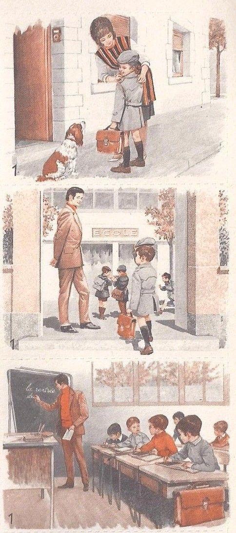 R. Dadillon, L'action en images (observer, parler, rédiger) CE - Cahier n°1. Collection J. Anscombre, Cahiers-clés, Mdi, 1970. Voir le ca...