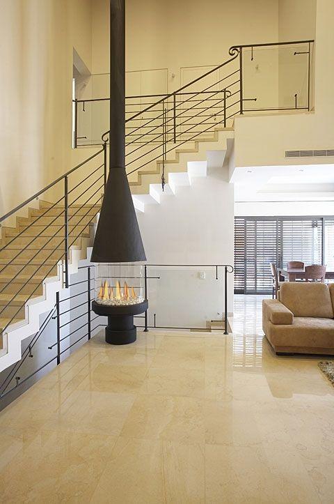 Ortal Ortal Circle 70 Circular Glass Fronted Fireplace
