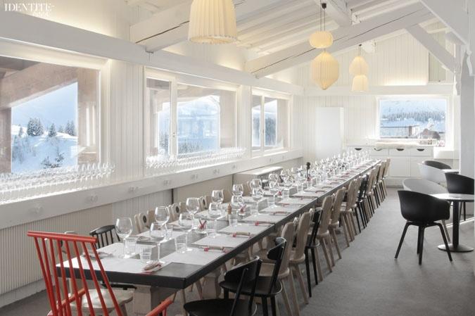 Projet-untitled-montblanc-restaurant-megeve-longue-table
