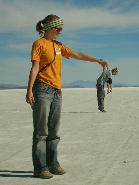 The Salt Flats Of Bolivia Trick Photography And Special