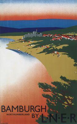 Bamburgh Northumberland By LNER