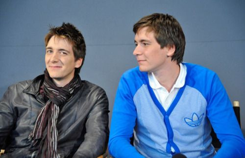 James and Oliver Phelps/Fred and George Weasley: Fav Charactersactor