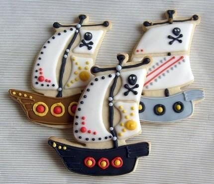 Arrrrg! A Pirate Party Theme! ~ Party Frosting