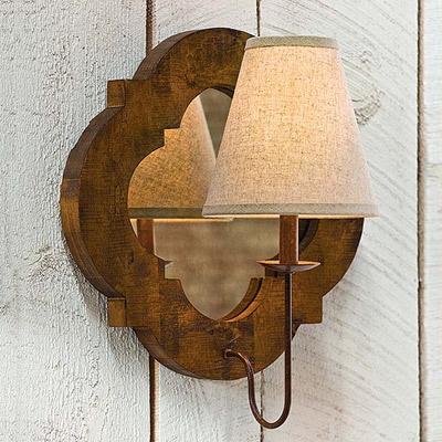 Regina Andrew Lighting Relic Pointed Quatrefoil Sconce $198 Love this!
