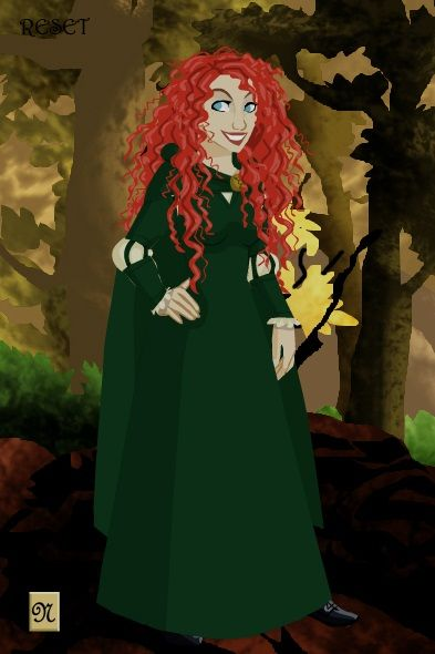 made Merida with http://www.dolldivine.com/disney-frozen-girls.php