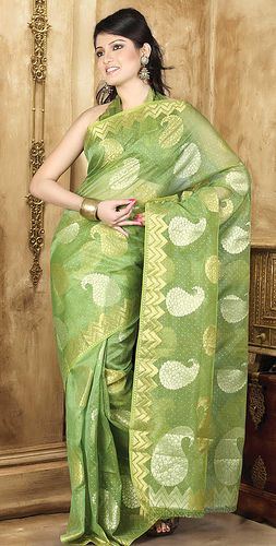 green-cotton-saree-10734