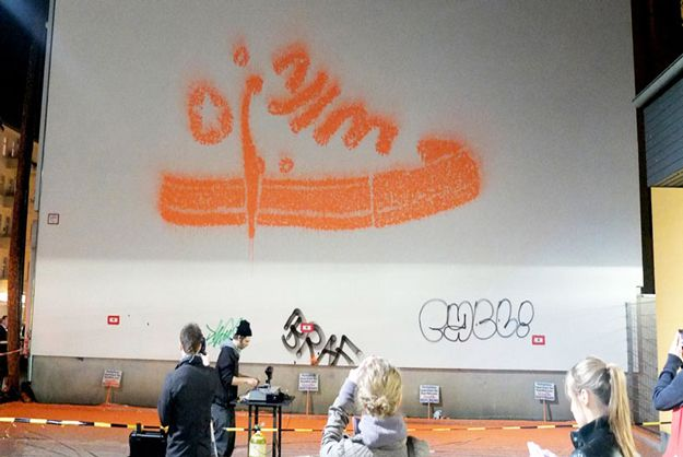 Converse Murals Shot Onto Walls Using Paintballs [Video]