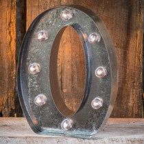 Light-Up Marquee Letter O