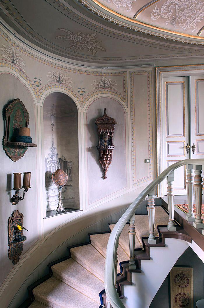 Interior designer Serdar Gülgün's home in Istanbul