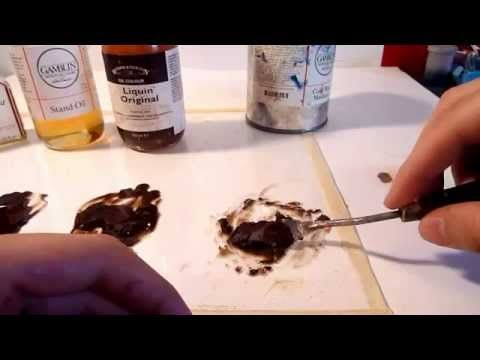 Art Gear Review: Oil Painting Mediums. We take a look at 5 different types of oil painting mediums and what makes them all unique! Winsor & Newton Refined Li...