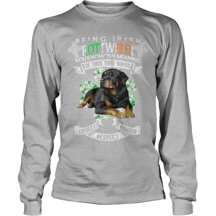 #Rottweiler Saint Patrick's Day Being Irish #Rottweiler Dog, Order HERE ==> https://www.sunfrog.com/Pets/114881237-454106691.html?9410, Please tag & share with your friends who would love it, #renegadelife #christmasgifts #xmasgifts  rottweiler tattoo, rottweiler facts, rottweiler quotes #rottweiler #family #science #nature #sports #tattoos #technology #travel