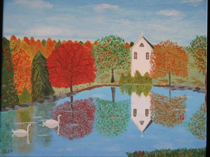 """Chapel in Autumn"""