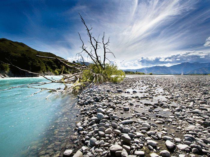 Hanmer River, Canterbury, New Zealand  #Cheapflights2013