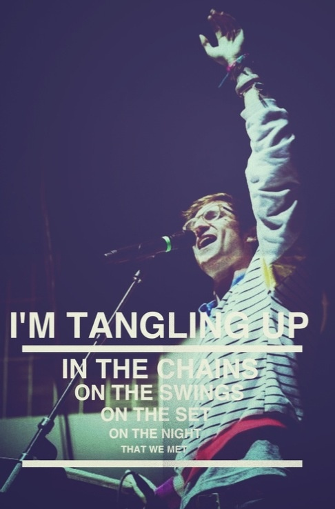 Walk The Moon my favorite lyric of theirs