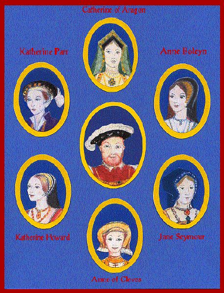 The Six Wives Of Henry VIII Paper Dolls