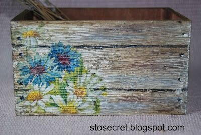 Hundred secrets decoupage