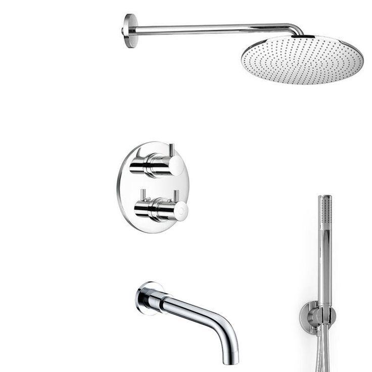 Pack robinetterie thermostatique bain à encastrer, Century