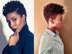 60 inspirações de cabelos crespos e curtos! ~ Central das Divas
