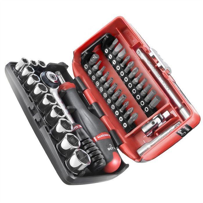 Facom Coffret De Serrage Et De Vissage 38 Pieces Coffret Outillage Facom Valise Aluminium