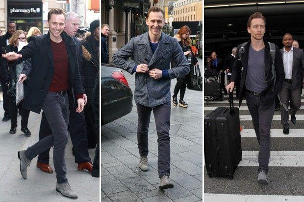 Saiba como o ator famoso por interpretar o vilão Loki está sempre com o estilo em dia. Estilo masculino de bota é o perfeito coringa do estilo masculino.
