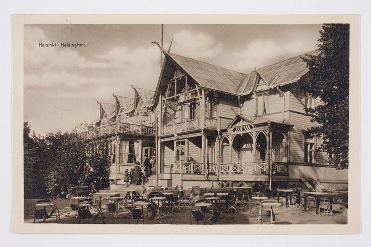 Restaurang Alphyddan, Helsinki ca 1900