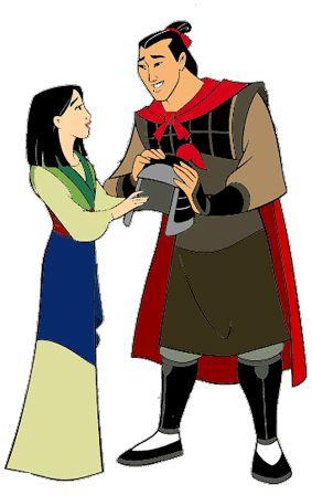 shang and mulan kiss  Shang & Mulan