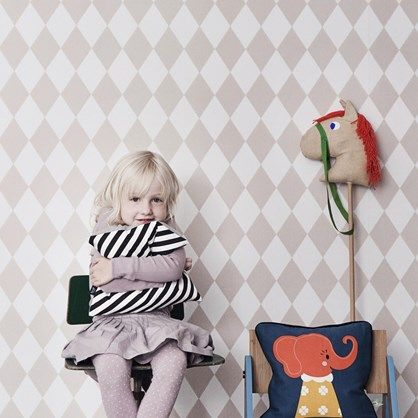 Harlequin+Rose++-+børnetapet