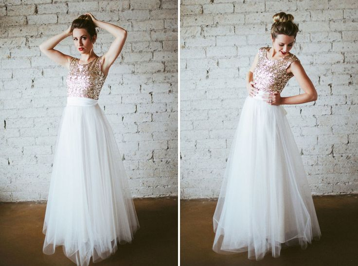 25 non traditional wedding dresses for the modern bride for Non wedding dresses for brides