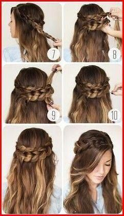 Easy Cute Hairstyles for Teens that Simple and Quick to Do  #hairstyles #braided…