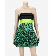 Ruby Rox® Dress With Animal Print Pick Up Skirt