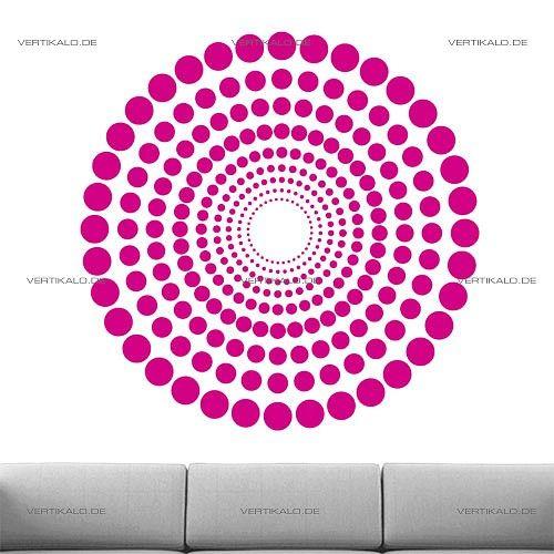 Wandtattoo Hypnosis 77 ab 18.00 EUR - Modern , Fl?chen, Hypnose, Retro, Wandaufkleber, Wandtattoos günstig bestellen bei VERTIKALO