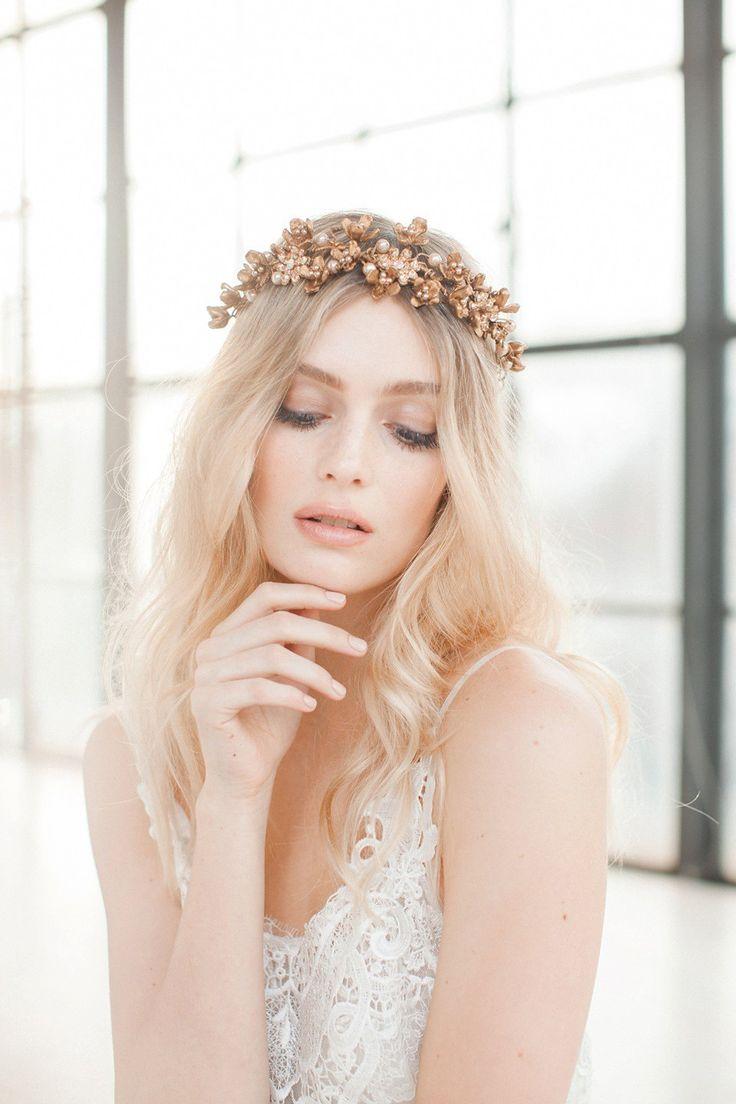 Swoon over jannie baltzer s wild nature bridal headpiece collection - Jannie Baltzer The Wild Nature Collection Bridal Headpiecesbridal