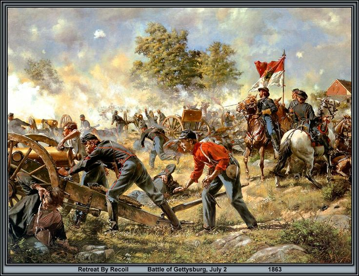 Don troiani civil wars massachusetts battery american civil art