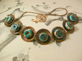Copper and lampwork