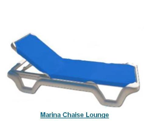 marina chaise lounge pool furniture
