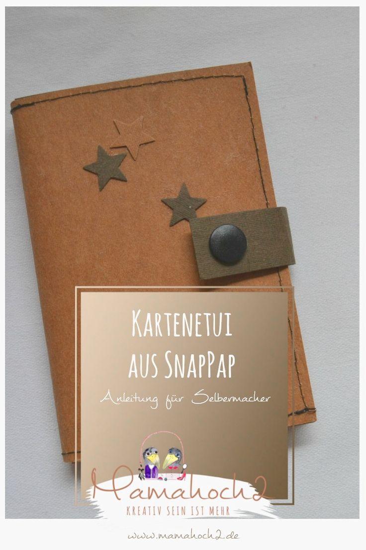 schnelle Nähanleitung für dein Kartenetui aus SnapPap