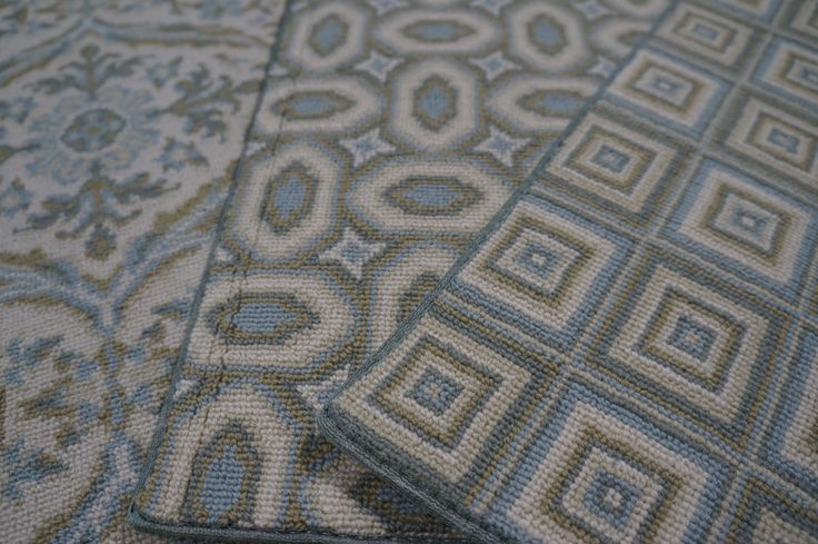 1000 images about wool carpet on pinterest mesas for Patterned wall to wall carpeting