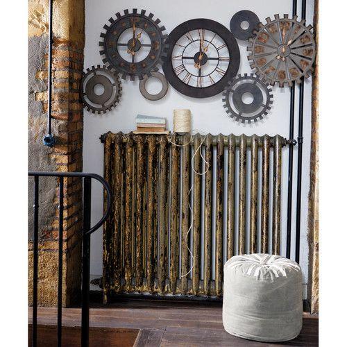 1000 id es sur le th me horloges de cuisine sur pinterest horloges horloge - Pendule murale maison du monde ...