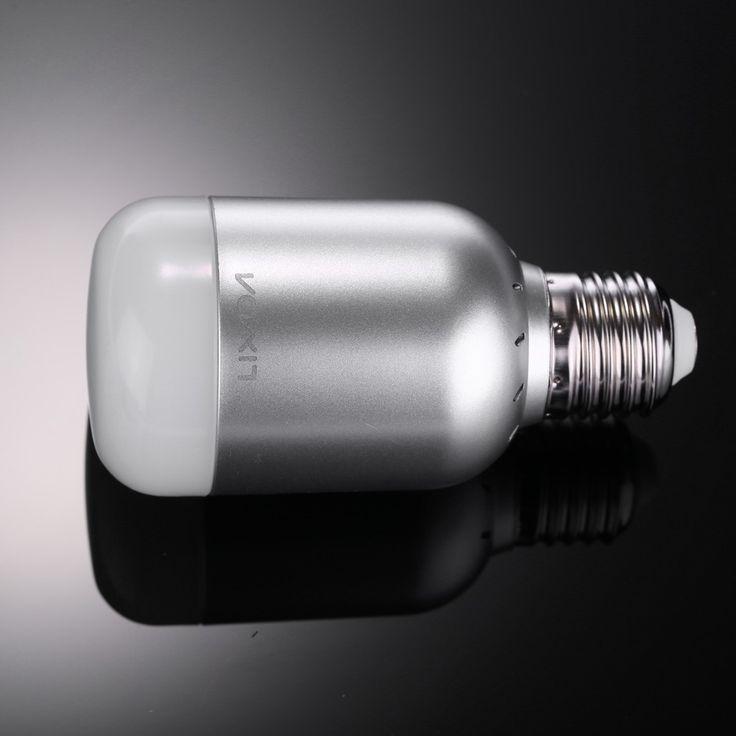 Lixada 6W 550LM E27 Smart Bluetooth RGB & White RGBW LED Bulb - Tomtop.com