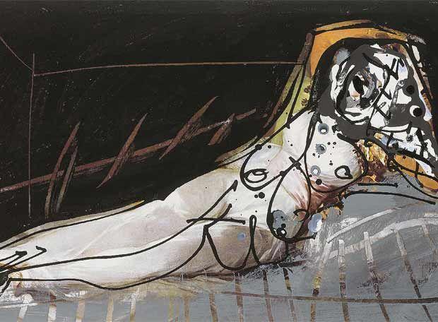 Antonio SAURA. Morir du souvenir (1972)